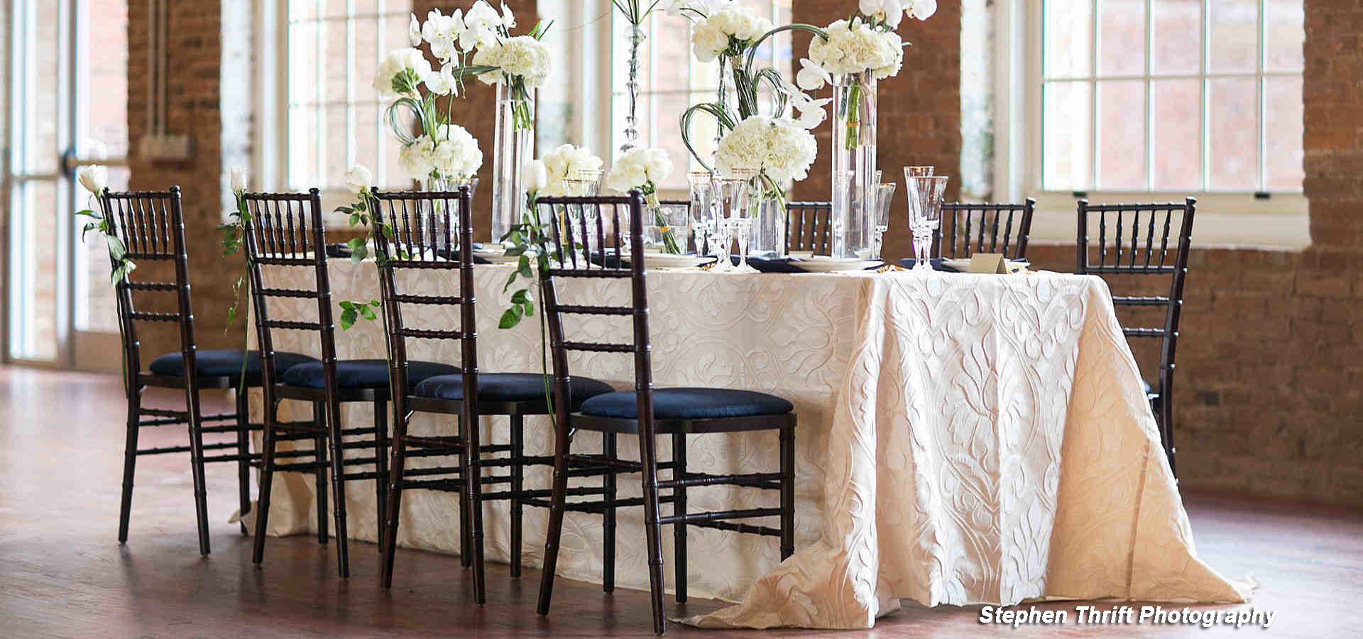 Event Rentals in the Charlottesville Metro area